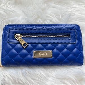BCBG Rock Story Quilted Wallet